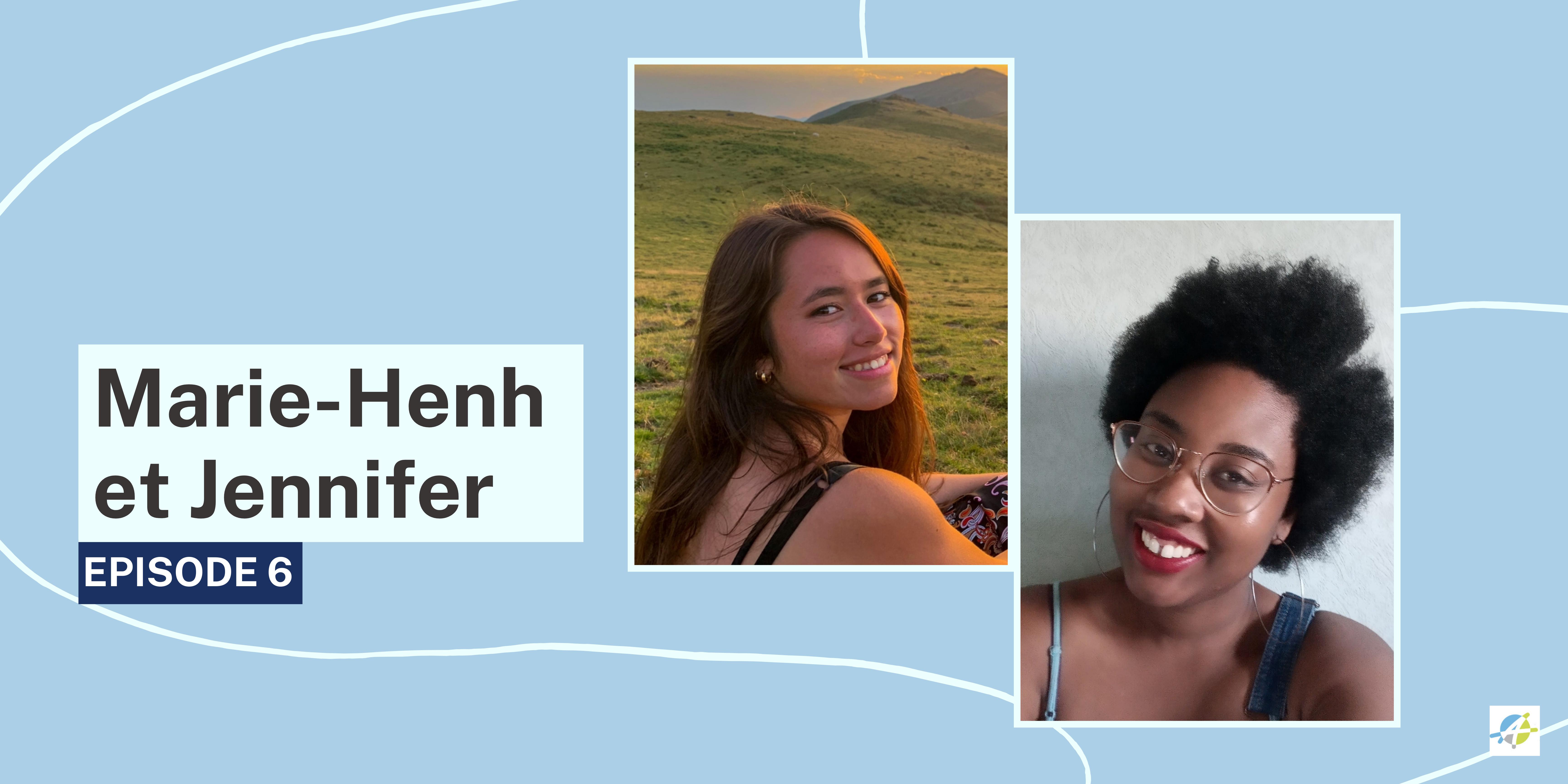 """Bannière : """"entretiens avec la nouvelle génération de professionnels du tourisme"""" Marie-Henh et Jennifer"""